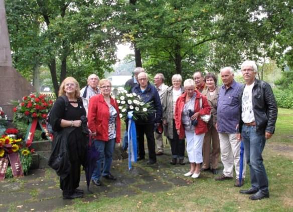 Gruppenbild in Stukenbrock 2013
